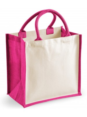 Printers Midi Jute Bag Westford Mill 220 GSM