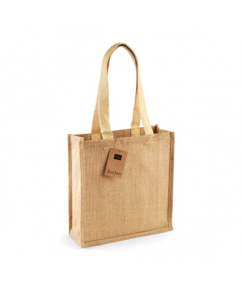 Jute Compact Tote Westford Mill 135 GSM