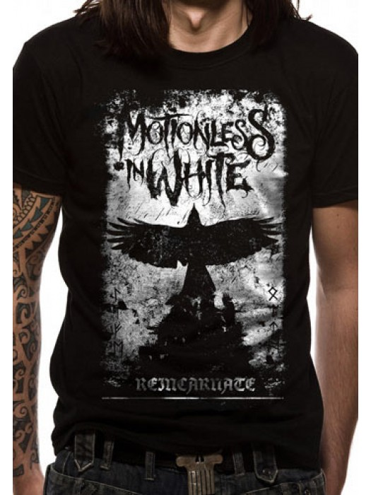 MOTIONLESS T SHIRT Official Merchandise MOTIONLESS IN WHITE - PHOENIX (UNISEX) Black t-shirt
