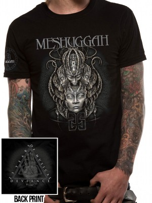 MESSUGGAH T SHIRT Official Merchandise MESSUGGAH - 25 YEARS (UNISEX)  Black t-shirt