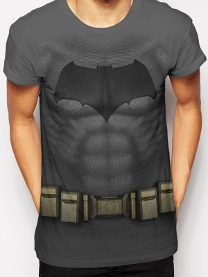 BATMAN VS SUPERMAN  T SHIRT Official Merchandise BATMAN VS SUPERMAN - BATMAN COSTUME Grey t-shirt