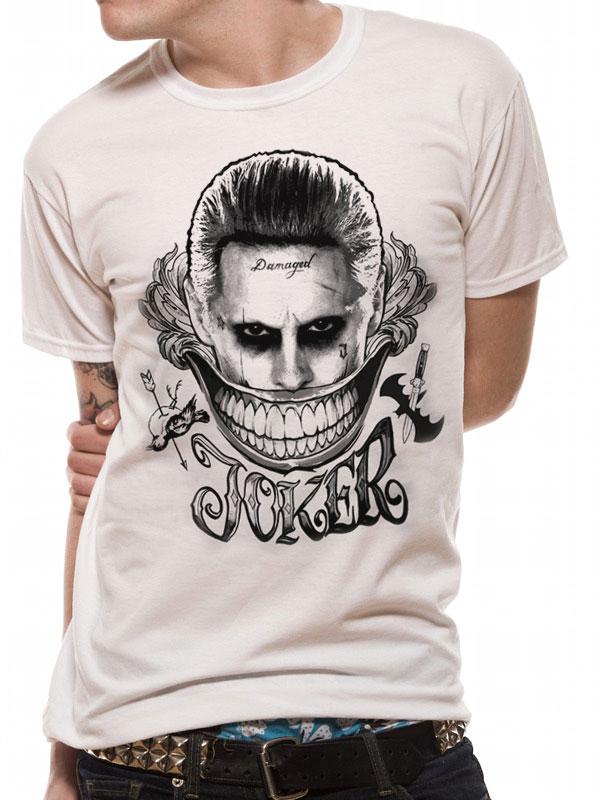 t shirt joker suicid squad