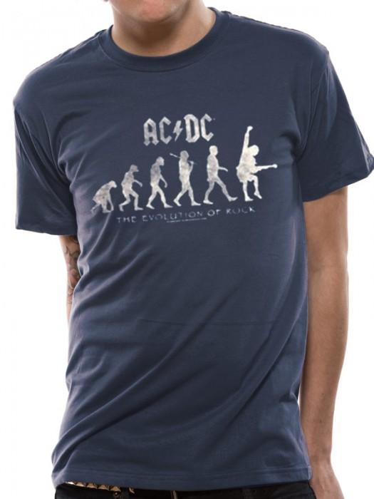 ac dc t shirt official merchandise ac dc evolution of. Black Bedroom Furniture Sets. Home Design Ideas