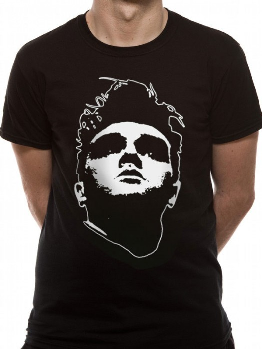 MORRISSEY T SHIRT Official Merchandise MORRISSEY - HEAD (UNISEX) Black t-shirt