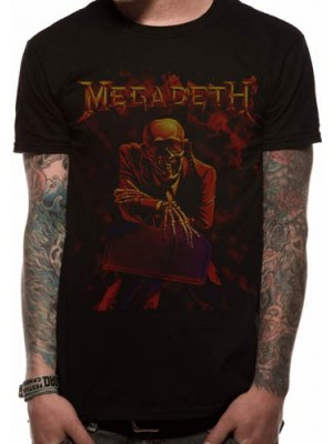 MEGADETH T SHIRT Official Merchandise MEGADETH - PEACE SELLS (UNISEX) Black t-shirt