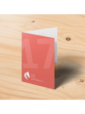 A4 Glued Presentation Folders