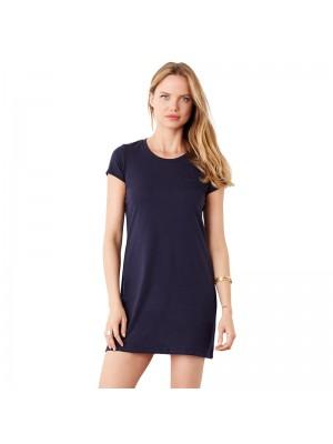 Plain t-shirt dress Jersey Bella 130 GSM
