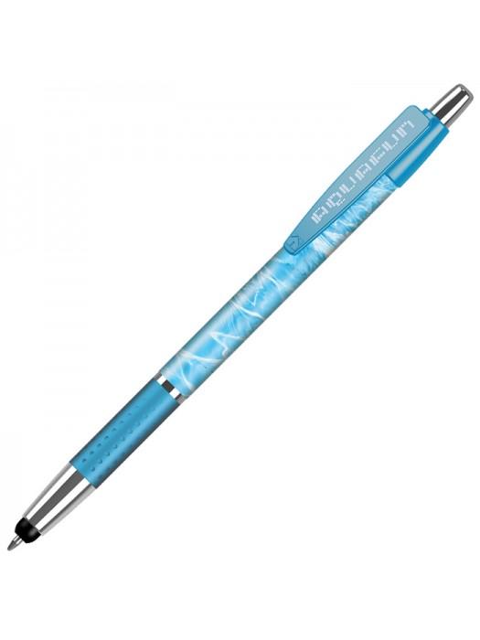Plastic Pen Fusion Stylus Elite Grip Solid Pen Retractable Penswith ink colour Black