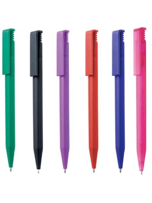 Plastic Pen Solid Calico Pen Retractable Penswith ink colour Black Refill