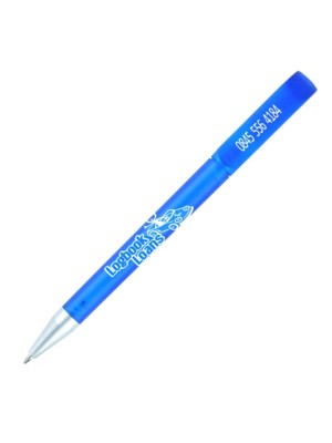Plastic Pen Espace Elite Frost Retractable Penswith ink colour Blue/Black
