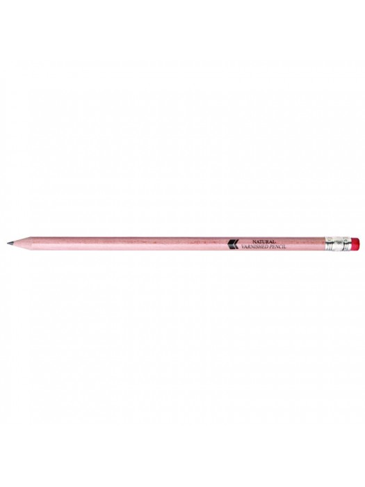 Plastic Pen Natural Varnished Pencil Retractable Penswith ink colour Lead