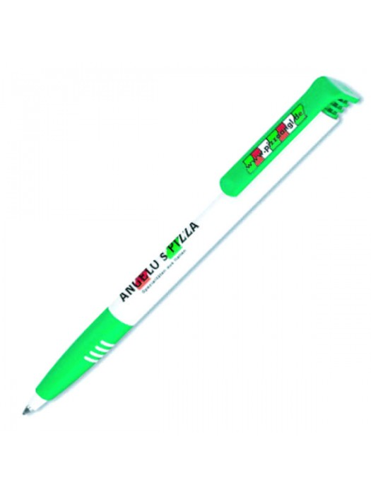 Plastic Pen Super Soft Basic Retractable Penswith ink colour Black Refill