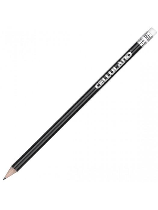 Plastic Pen Argente Pencil with Eraser Retractable Penswith ink colour Lead