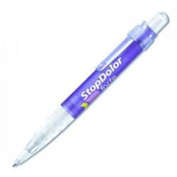 Plastic Pen Big Pen Icy Retractable Penswith ink colour Black Refill