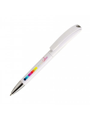 Plastic Pen Calico Digital Retractable Penswith ink colour Blue