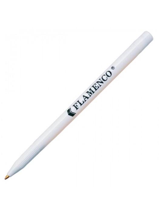 Plastic Pen Flamenco Retractable Penswith ink colour Black/Blue
