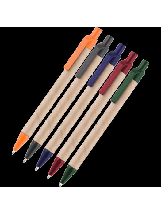 Plastic Pen Ecoretract Colour Retractable Penswith ink colour Black