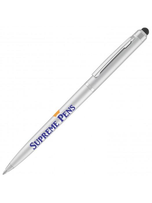 Plastic Pen Super Saver Stylus Pen Retractable Penswith ink colour Blue & Black