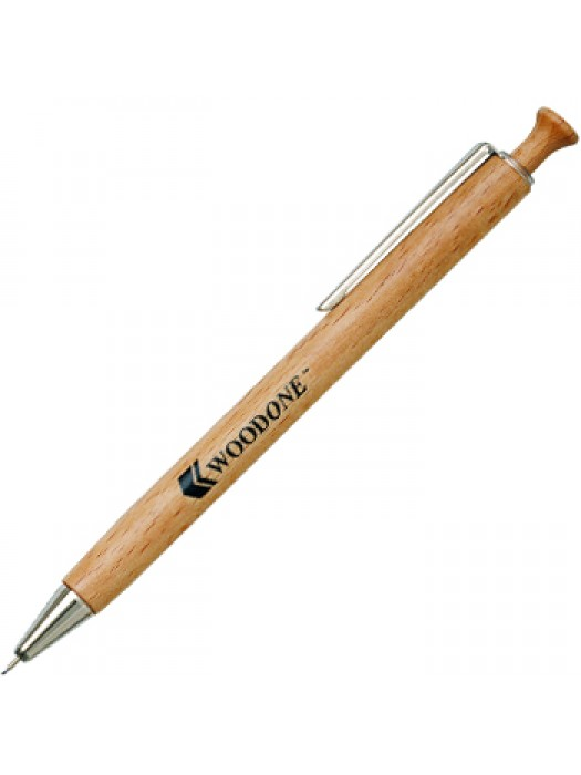 Plastic Pen WoodOne Pencil Retractable Penswith ink colour Lead