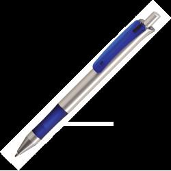 Plastic Pen Alaska silver Retractable Penswith ink colour black