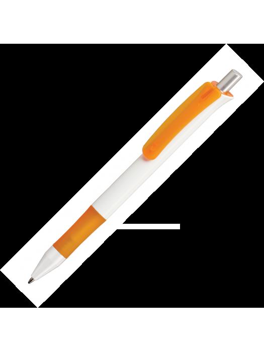 Plastic Pen Alaska White Retractable Penswith ink colour black