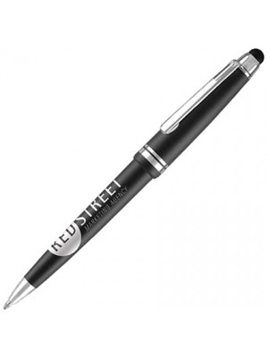 Plastic Pen Alpine Stylus Pen Retractable Penswith ink colour black