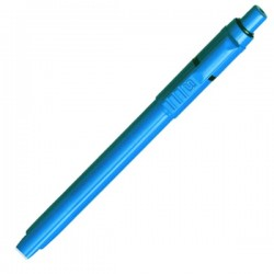 Plastic Pen Baron Extra Retractable Penswith ink colour Blue Refill