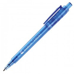 Plastic Pen Baron Frost Retractable Penswith ink colour Blue Refill