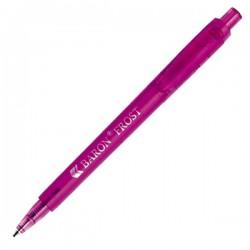 Plastic Pen Baron Frost Retractable Penswith ink colour Blue Refill