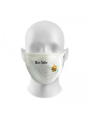 Be Safe Print Funny Face Masks Protection Against Droplets & Dust