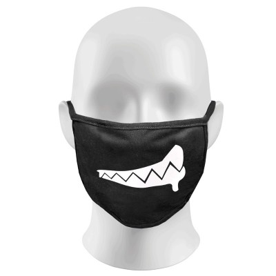 Monster Teeth Print Funny Face Masks Protection Against Droplets & Dust