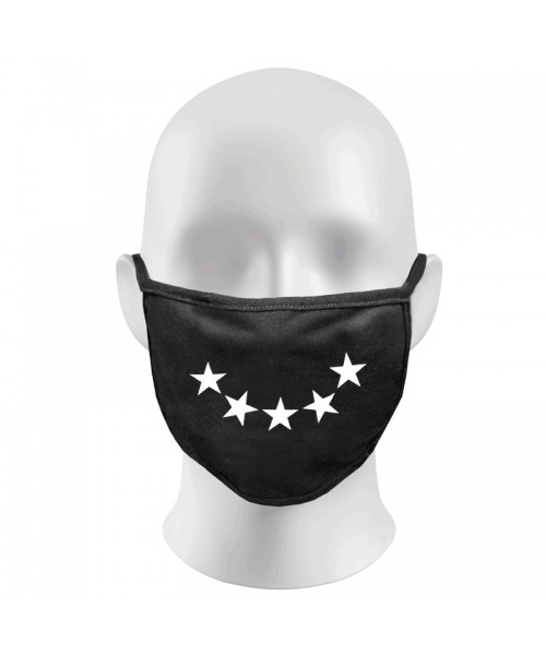 STAR SMILE Print Funny Face Masks Protection Against Droplets & Dust
