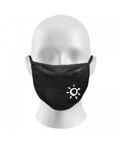 Sun Print Funny Face Masks Protection Against Droplets & Dust