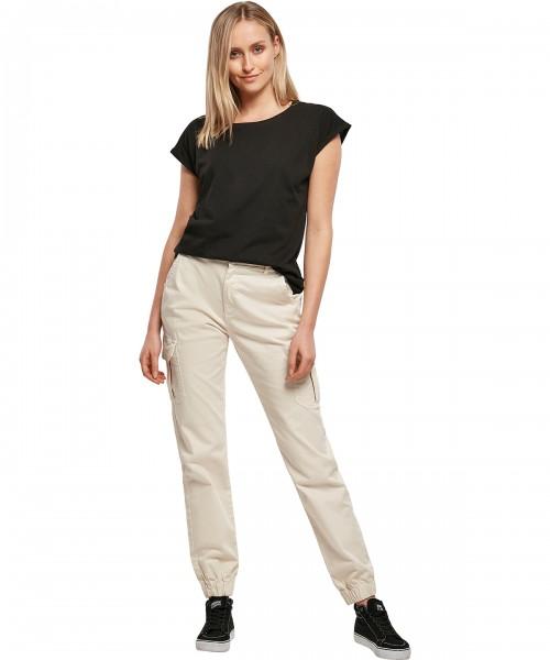 Plain Women's basic t-shirt T-shirts Build Your Brand 110 GSM