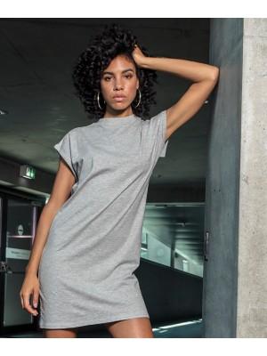 Plain Women's turtle extended shoulder dress  T-shirts Build Your Brand 200 GSM