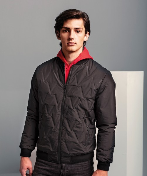 Plain Vector moulded bomber jacket Jacket 2786 Outer: 58. Lining: 50. Wadding: 100 GSM