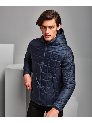 Plain Box quilt hooded jacket Jacket 2786 Outer: 41. Lining: 52. Wadding: 250 GSM