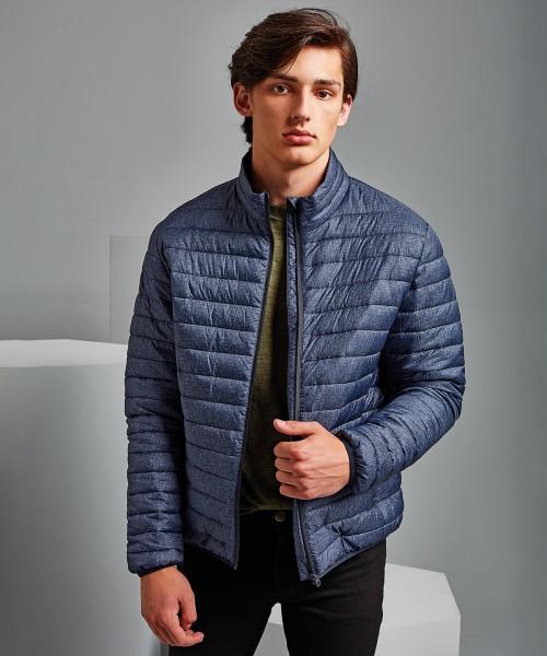 Plain Melange padded jacket Jacket 2786 Outer: 36. Lining: 34. Wadding: 325 GSM
