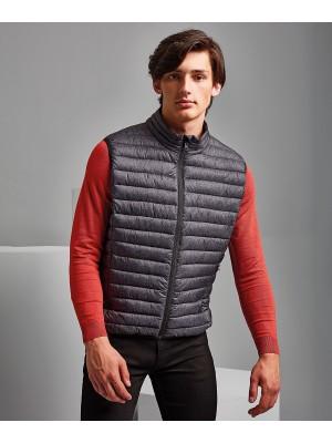 Plain Melange padded gilet Jacket 2786 Outer: 36. Lining: 34. Wadding: 325 GSM