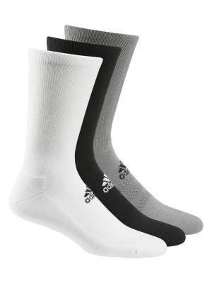 Plain adidas® 3-pack golf crew socks Socks Adidas® 213 GSM