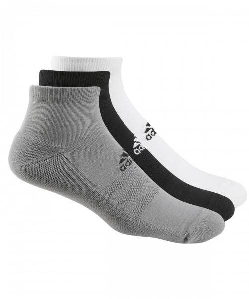 Plain adidas® 3-pack golf ankle socks Socks Adidas® 145 GSM