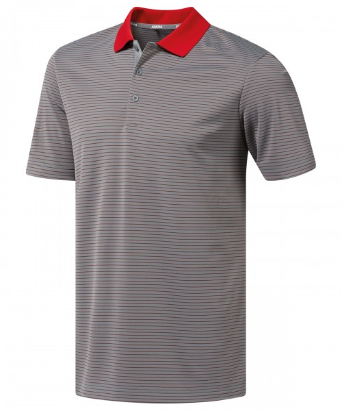 Plain 2-colour stripe polo T-Shirts Adidas® 125 GSM