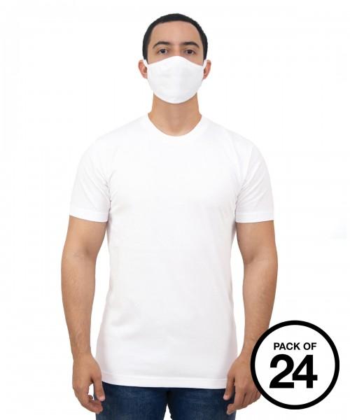 Plain Gildan® adult everyday 2-ply mask (pack of 24) mask Gildan  GSM