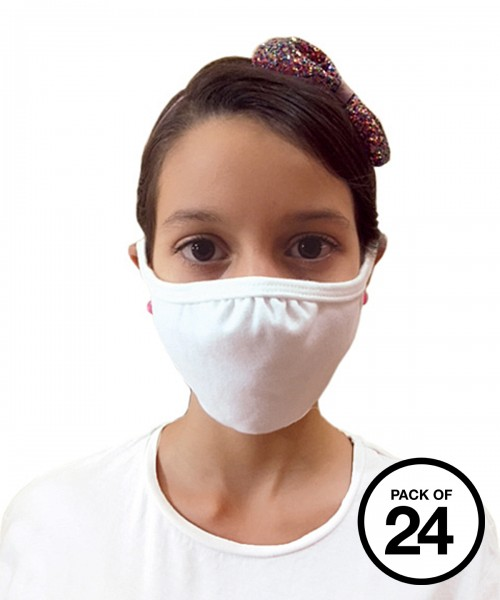 Plain Gildan® youth everyday 2-ply mask (pack of 24) mask Gildan  GSM