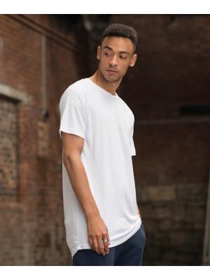 Plain Westcoast longline T T-shirts AWDIS JUST T'S 160 GSM