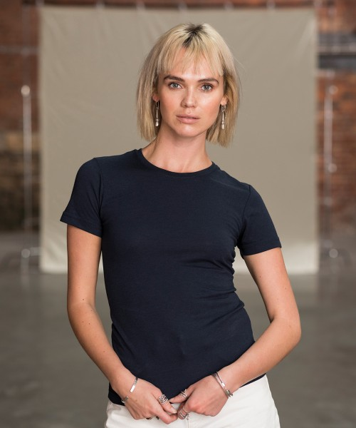 Plain Women's triblend T T-shirts AWDis Just T's 160 GSM