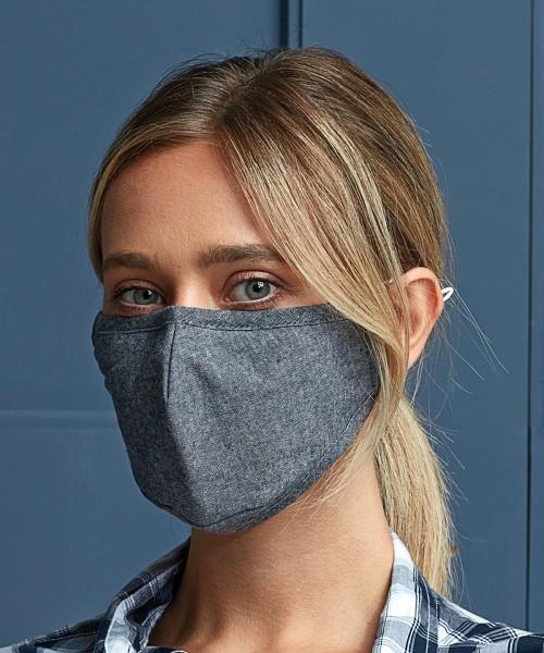 Plain 3-layer fabric mask (AFNOR Certified) Masks Premier  GSM