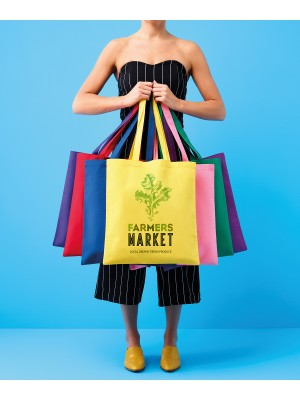 Plain Cotton shopper long handle Bags Nutshell® 145 GSM