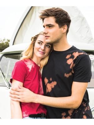 Plain Bleach out T T-shirts Colortone 291 GSM