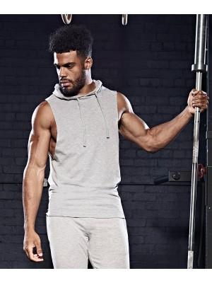 Plain Urban sleeveless muscle hoodie Hoodies AWDis Just Cool 240 GSM